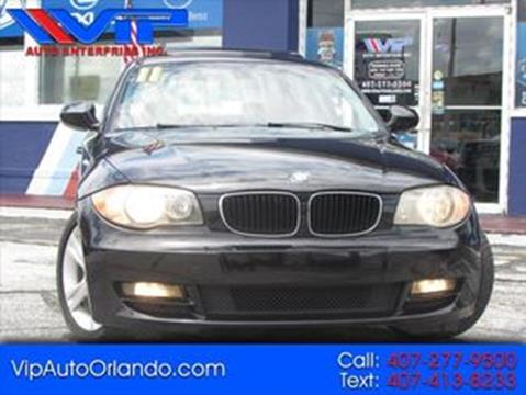 2011 BMW 1 Series for sale at VIP AUTO ENTERPRISE INC. in Orlando FL