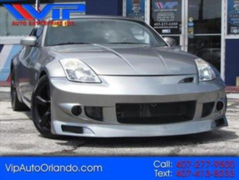 2006 Nissan 350Z for sale at VIP AUTO ENTERPRISE INC. in Orlando FL