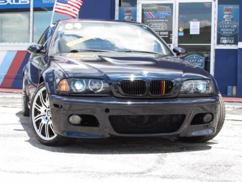2004 BMW M3 for sale at VIP AUTO ENTERPRISE INC. in Orlando FL
