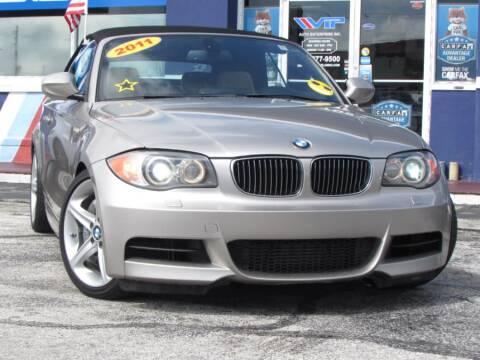2011 BMW 1 Series for sale at VIP AUTO ENTERPRISE INC. in Orlando FL