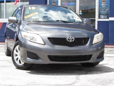 2010 Toyota Corolla for sale at VIP AUTO ENTERPRISE INC. in Orlando FL