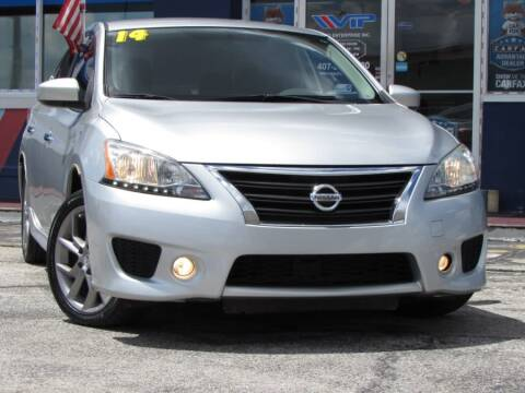 2014 Nissan Sentra for sale at VIP AUTO ENTERPRISE INC. in Orlando FL