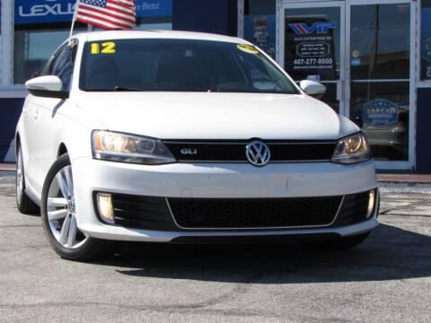 2012 Volkswagen Jetta for sale at VIP AUTO ENTERPRISE INC. in Orlando FL