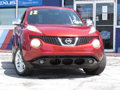 2012 Nissan JUKE for sale at VIP AUTO ENTERPRISE INC. in Orlando FL