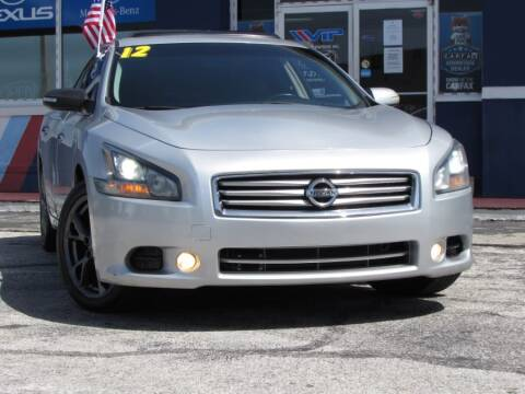 2012 Nissan Maxima for sale at VIP AUTO ENTERPRISE INC. in Orlando FL