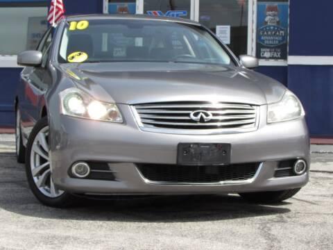 2010 Infiniti M35 for sale at VIP AUTO ENTERPRISE INC. in Orlando FL
