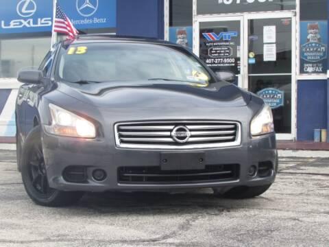 2013 Nissan Maxima for sale at VIP AUTO ENTERPRISE INC. in Orlando FL