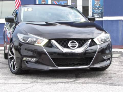 2016 Nissan Maxima for sale at VIP AUTO ENTERPRISE INC. in Orlando FL
