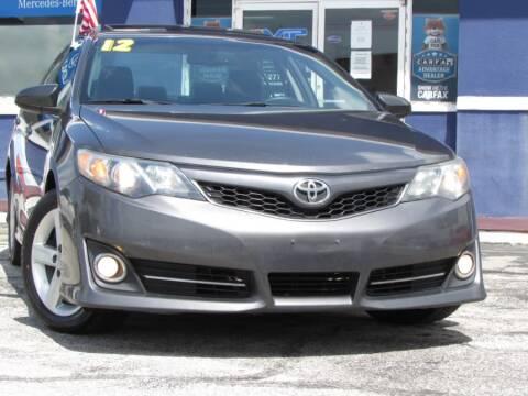 2012 Toyota Camry for sale at VIP AUTO ENTERPRISE INC. in Orlando FL