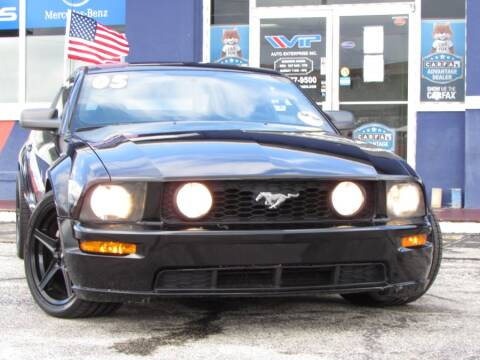 2005 Ford Mustang for sale at VIP AUTO ENTERPRISE INC. in Orlando FL