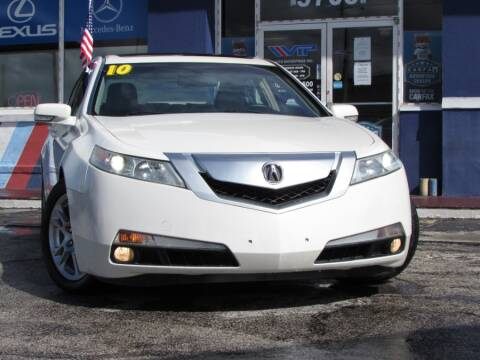 2010 Acura TL for sale at VIP AUTO ENTERPRISE INC. in Orlando FL