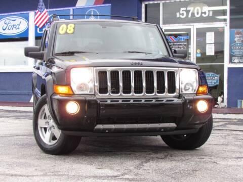 2008 Jeep Commander for sale at VIP AUTO ENTERPRISE INC. in Orlando FL