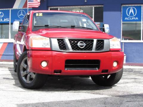 2012 Nissan Titan for sale at VIP AUTO ENTERPRISE INC. in Orlando FL