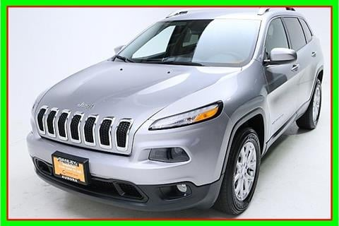 2016 Jeep Cherokee for sale in Aurora, OH