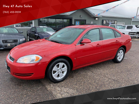2007 Chevrolet Impala LT for sale at Hwy 47 Auto Sales in Saint Francis MN