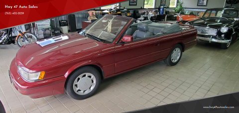 1991 Infiniti M30 for sale at Hwy 47 Auto Sales in Saint Francis MN