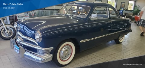 1950 Ford Tudor for sale at Hwy 47 Auto Sales in Saint Francis MN