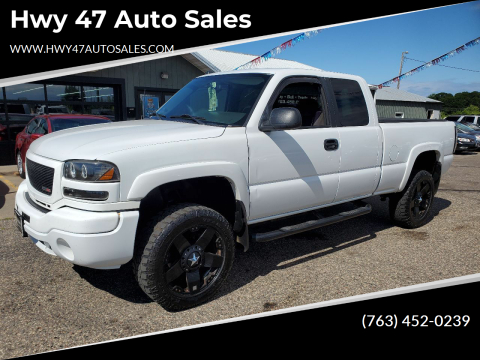 2004 GMC Sierra 2500HD for sale at Hwy 47 Auto Sales in Saint Francis MN