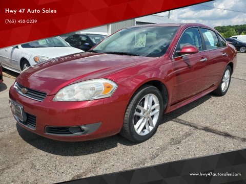 2011 Chevrolet Impala for sale at Hwy 47 Auto Sales in Saint Francis MN