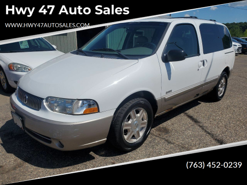 2001 Mercury Villager for sale at Hwy 47 Auto Sales in Saint Francis MN