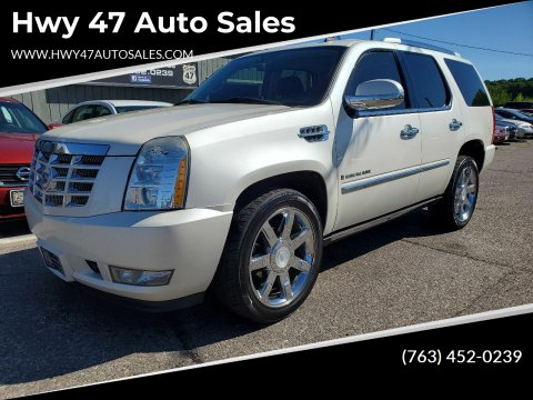 2007 Cadillac Escalade for sale at Hwy 47 Auto Sales in Saint Francis MN