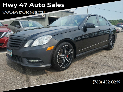 2012 Mercedes-Benz E-Class for sale at Hwy 47 Auto Sales in Saint Francis MN