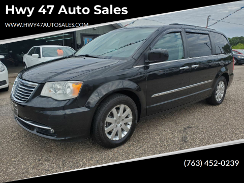 2011 Chrysler Town and Country for sale at Hwy 47 Auto Sales in Saint Francis MN