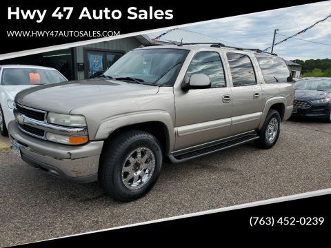 2003 Chevrolet Suburban for sale at Hwy 47 Auto Sales in Saint Francis MN