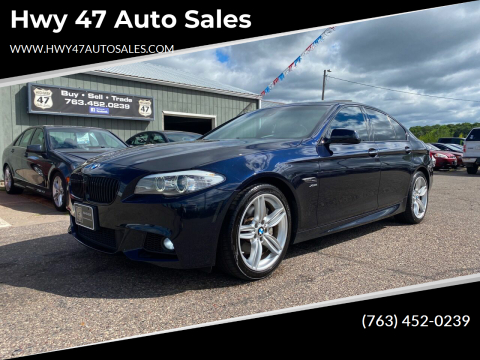 2011 BMW 5 Series for sale at Hwy 47 Auto Sales in Saint Francis MN