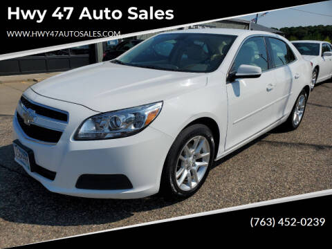 2013 Chevrolet Malibu for sale at Hwy 47 Auto Sales in Saint Francis MN