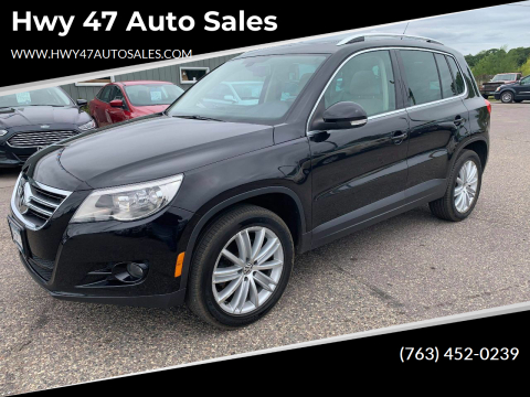 2010 Volkswagen Tiguan for sale at Hwy 47 Auto Sales in Saint Francis MN