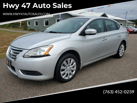 2014 Nissan Sentra for sale at Hwy 47 Auto Sales in Saint Francis MN