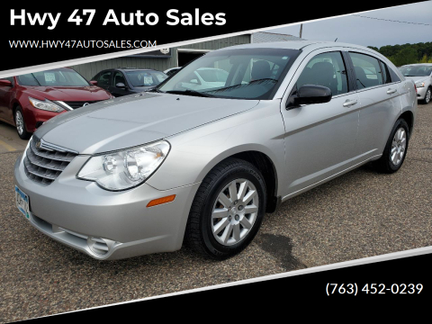 2010 Chrysler Sebring for sale at Hwy 47 Auto Sales in Saint Francis MN