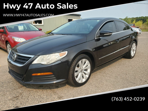 2012 Volkswagen CC for sale at Hwy 47 Auto Sales in Saint Francis MN