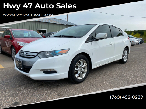 2011 Honda Insight for sale at Hwy 47 Auto Sales in Saint Francis MN