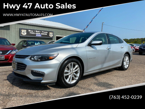 2016 Chevrolet Malibu for sale at Hwy 47 Auto Sales in Saint Francis MN