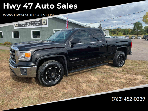 2014 GMC Sierra 1500 for sale at Hwy 47 Auto Sales in Saint Francis MN