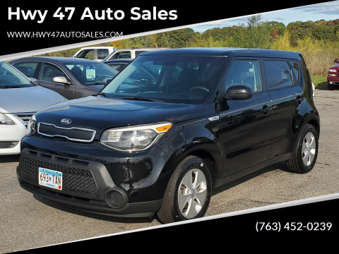 2015 Kia Soul for sale at Hwy 47 Auto Sales in Saint Francis MN