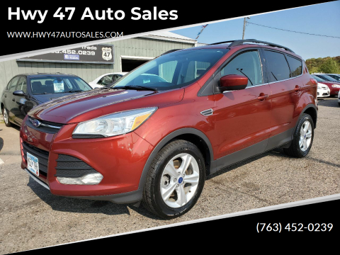 2014 Ford Escape for sale at Hwy 47 Auto Sales in Saint Francis MN