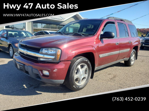 2004 Chevrolet TrailBlazer EXT for sale at Hwy 47 Auto Sales in Saint Francis MN
