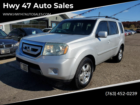 2009 Honda Pilot for sale at Hwy 47 Auto Sales in Saint Francis MN