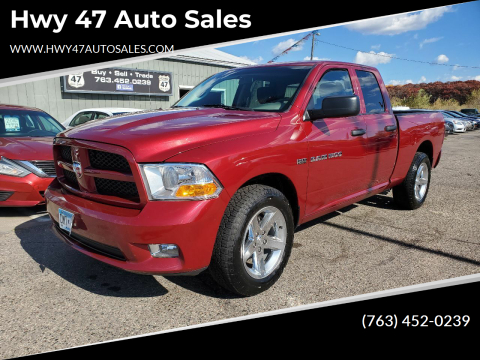 2012 RAM Ram Pickup 1500 for sale at Hwy 47 Auto Sales in Saint Francis MN