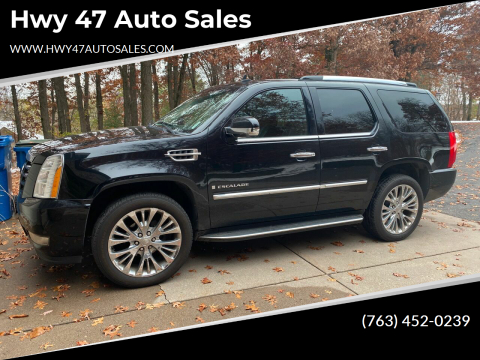 2008 Cadillac Escalade for sale at Hwy 47 Auto Sales in Saint Francis MN