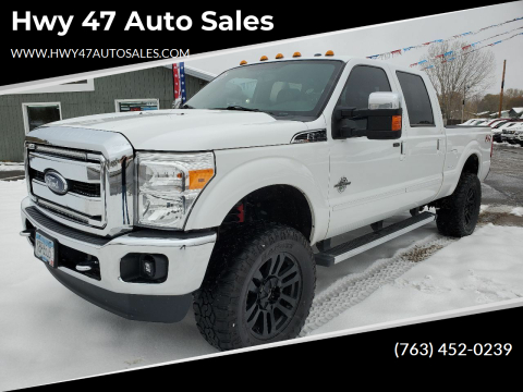 2015 Ford F-350 Super Duty for sale at Hwy 47 Auto Sales in Saint Francis MN