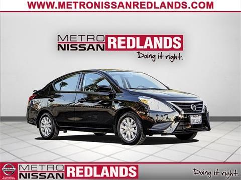 2018 Nissan Versa for sale in Redlands, CA