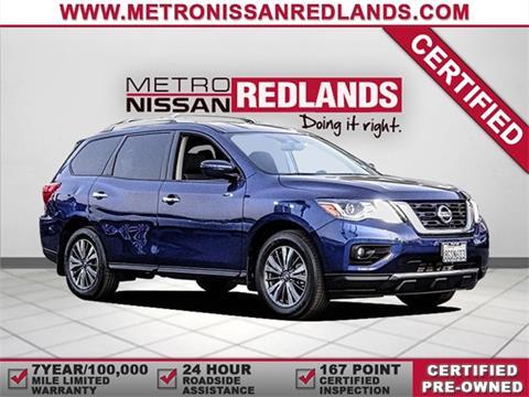 2018 Nissan Pathfinder for sale in Redlands, CA