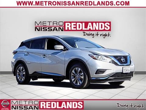 2015 Nissan Murano for sale in Redlands, CA