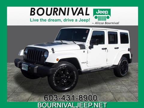 2014 Jeep Wrangler Unlimited for sale in Portsmouth, NH