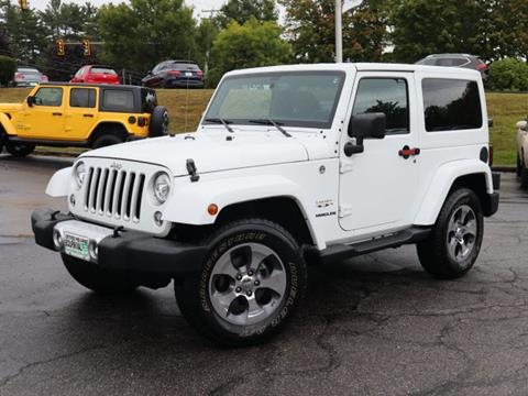 2017 Jeep Wrangler for sale in Portsmouth, NH