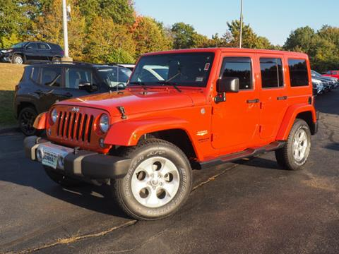 2015 Jeep Wrangler Unlimited for sale in Portsmouth, NH